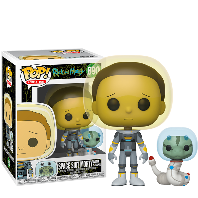 Figurka Funko POP Space Suit Morty