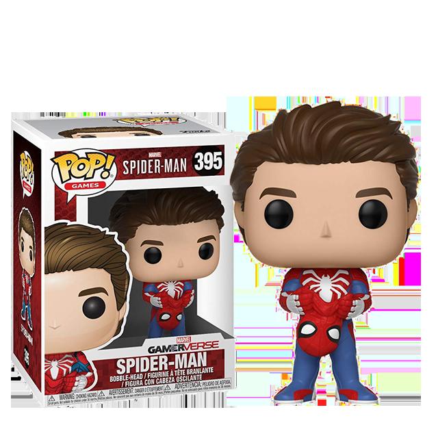 Figurka Funko POP! Spider-Man bez masky