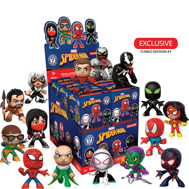 Figurky Mystery Minis Spider-Man - Blindbox EXCLUSIVE