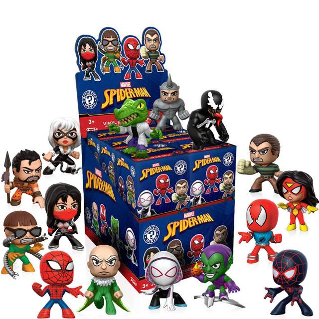 Figurky Mystery Minis Spider-Man - Blindbox