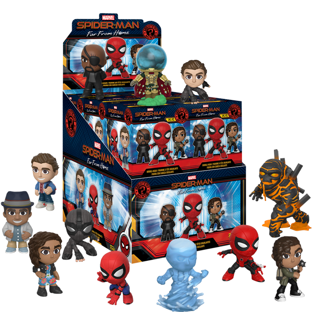 Figurky Mystery Minis Spider-Man: Far From Home - Blindbox