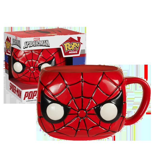 Funko POP! HOME Spider-Man - Keramický hrníček