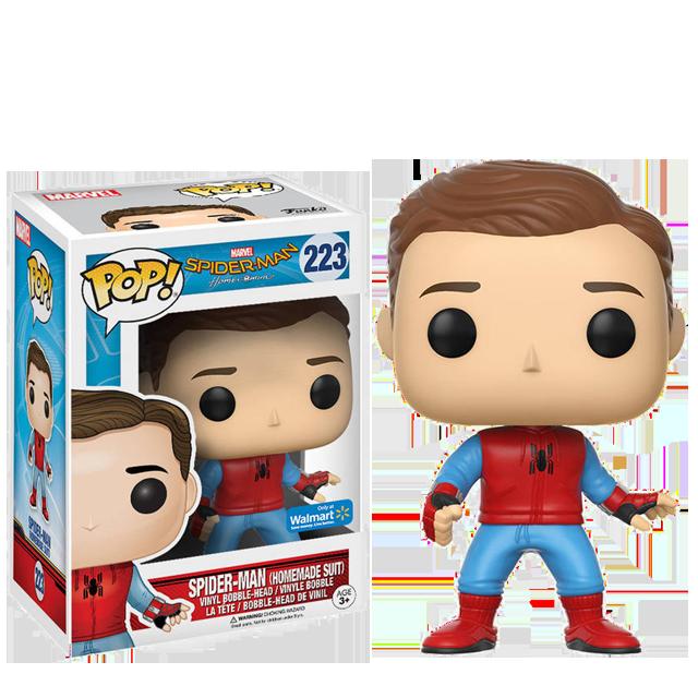 Figurka Funko POP! Spider-Man v převleku bez masky - Homecoming