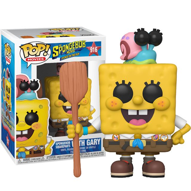 SpongeBob with Gary
