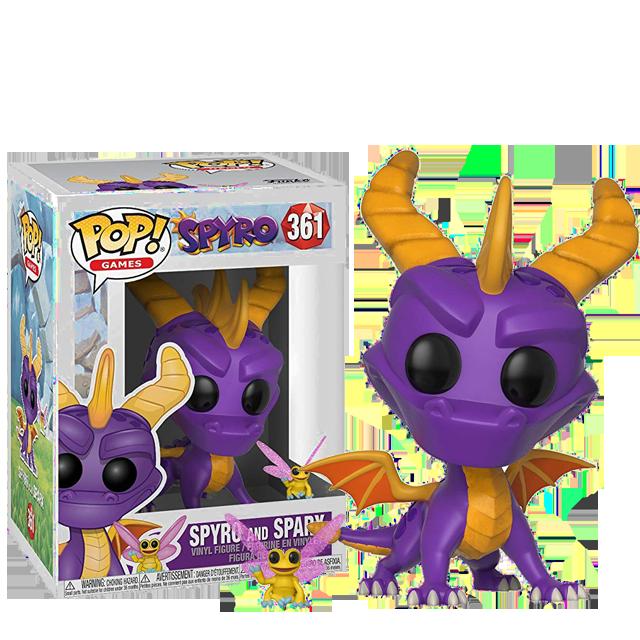 Figurka Funko POP Spyro a Sparx