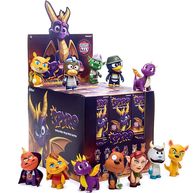 Kidrobot Spyro - Blindbox