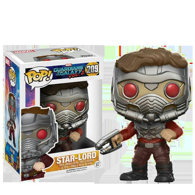 Figurka Funko POP! Star-Lord v masce - Vol.2