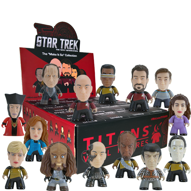 Figurky Titans Star Trek The Next Generation - Blindbox