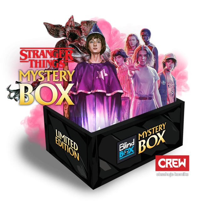 Blindbox Stranger Things Mystery Box