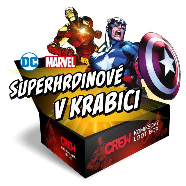 Komiksový Box: Superhrdinové v krabici