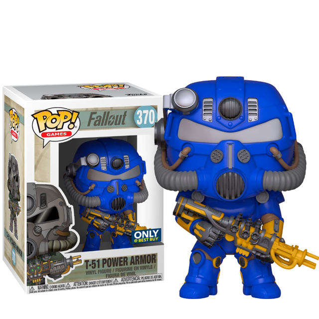 Figurka Funko POP! T-51 Power Armor Exclusive - Fallout