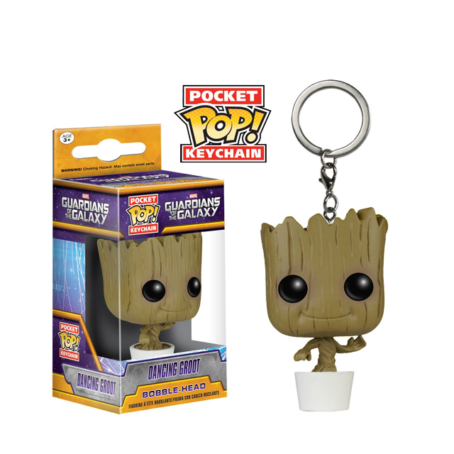 Pocket POP! Tancující Groot - přívěsek na klíče