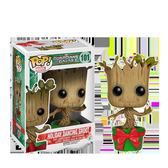 Figurka Funko POP! Vánoční tancující Groot
