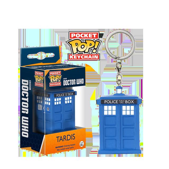 Pocket POP! Tardis - přívěsek na klíče