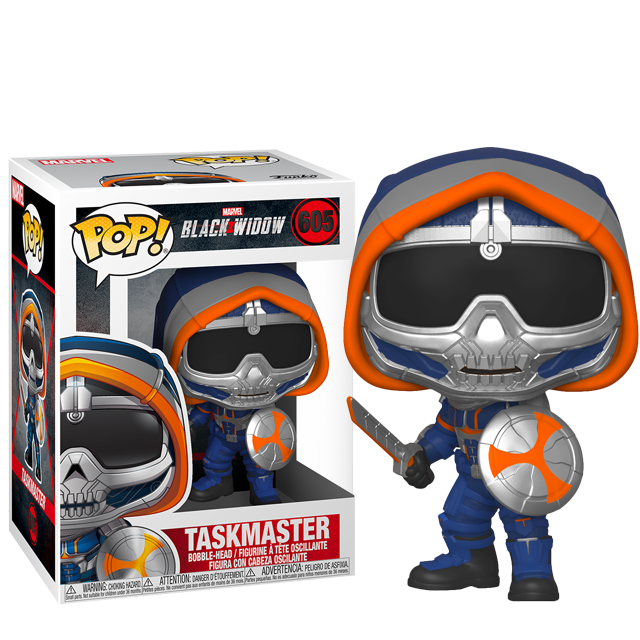 Figurka Funko POP Taskmaster - Black Widow