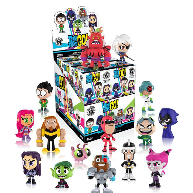 Figurky Mystery Minis Teen Titans Go! - Blindbox