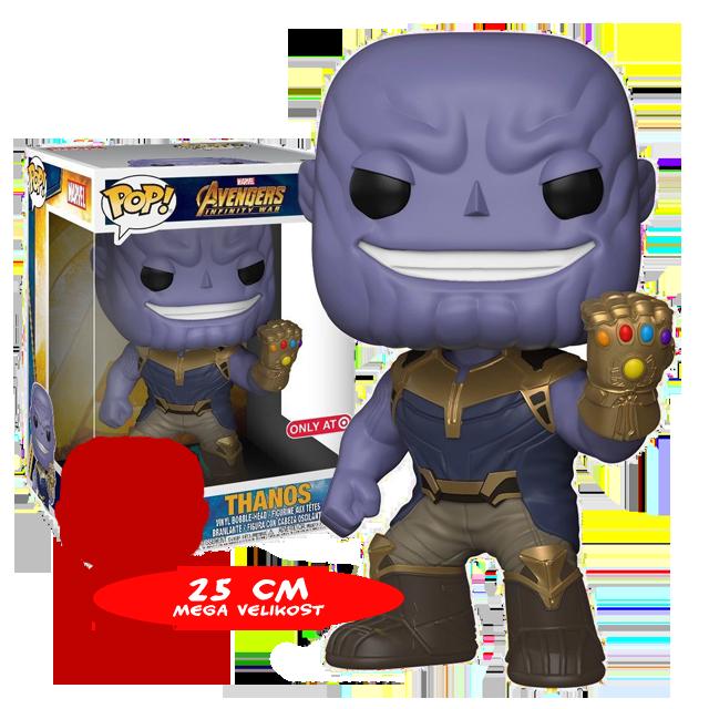 Figurka Funko POP! Thanos 25 cm