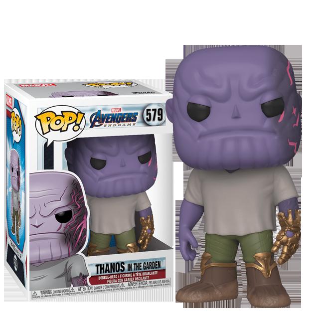 Figurka Funko POP Thanos v zahradě - Endgame