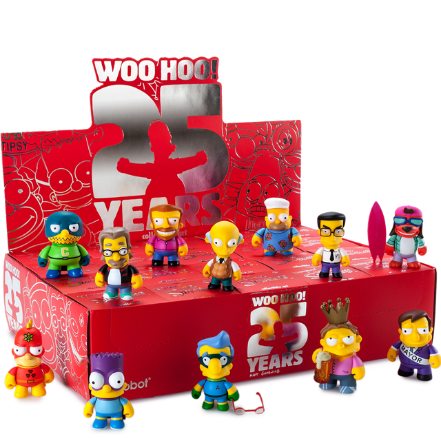 Kidrobot The Simpsons 25 Years - Blindbox