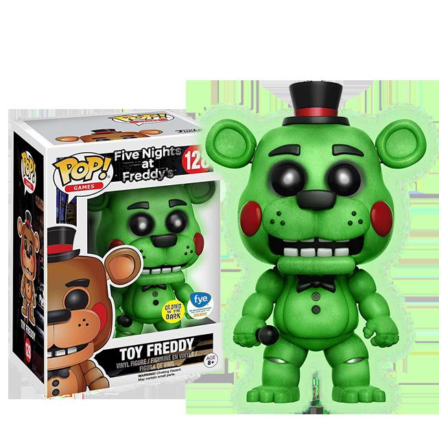 Figurka Funko POP! Toy Freddy - svítící ve tmě