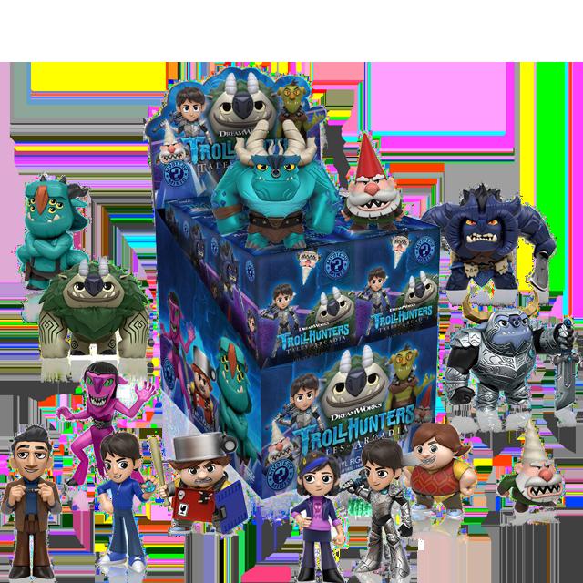 Figurky Mystery Minis Trollhunters - Blindbox