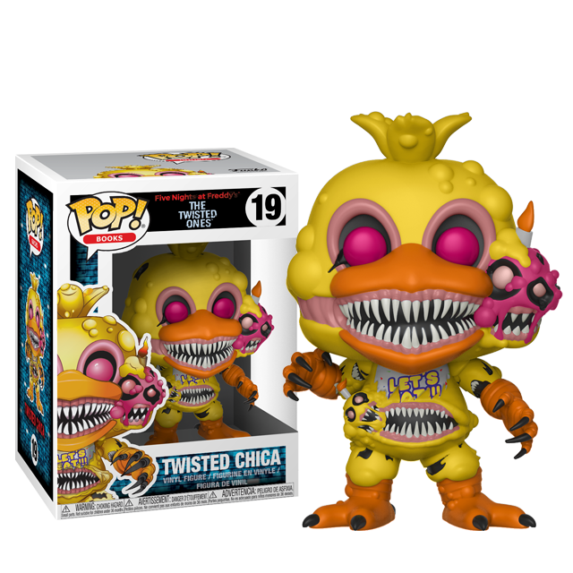 Figurka Funko POP! Twisted Chica - Five Nights at Freddy's