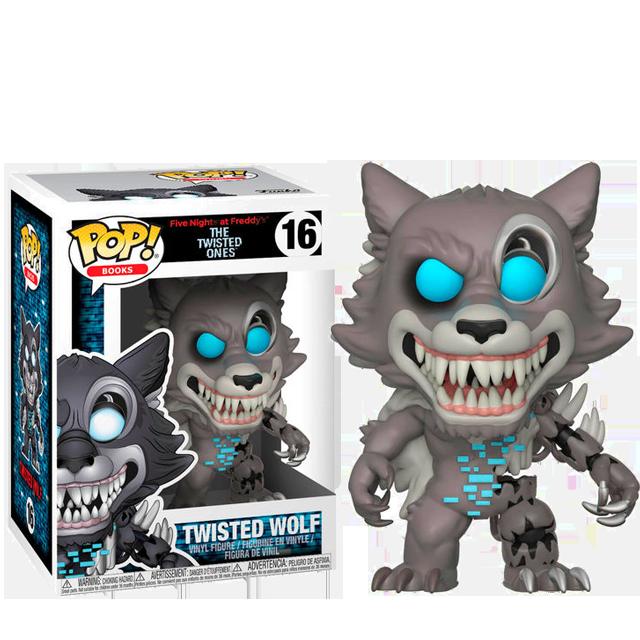 Figurka Funko POP! Twisted Wolf - Five Nights at Freddy's