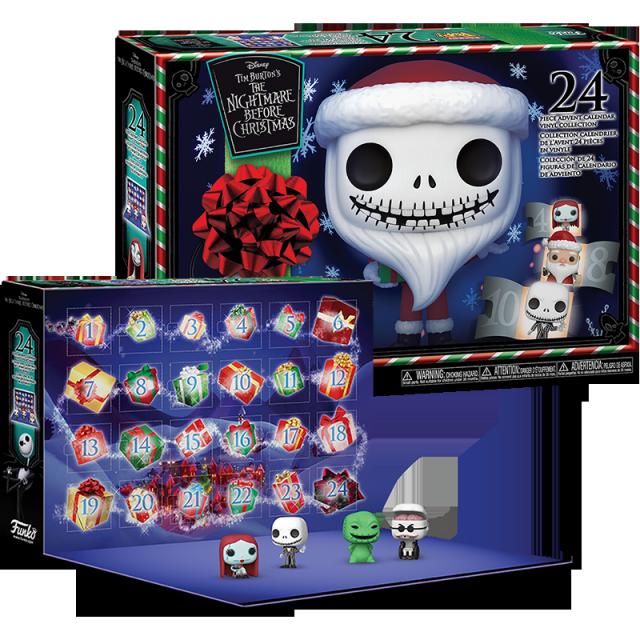 Pocket POP Ukradené Vánoce adventní kalendář 24 figurek