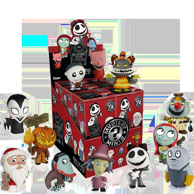 Figurky Mystery Minis Ukradené Vánoce - Blindbox