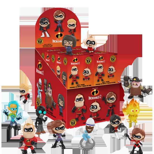 Figurky Mystery Minis Úžasňákovi 2 - Blindbox