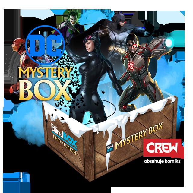Blindbox Vánoční DC Universe Mystery Box