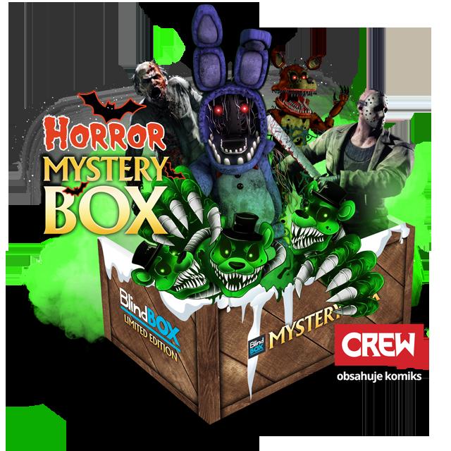 Blindbox Vánoční Horror Mystery Box