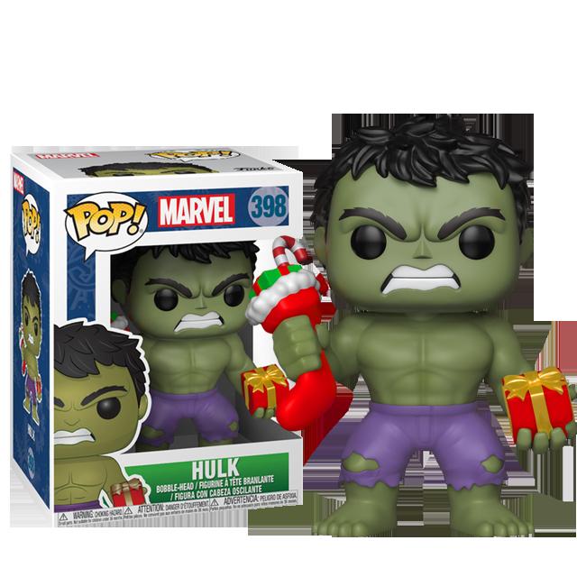 Figurka Funko POP! Vánoční Hulk