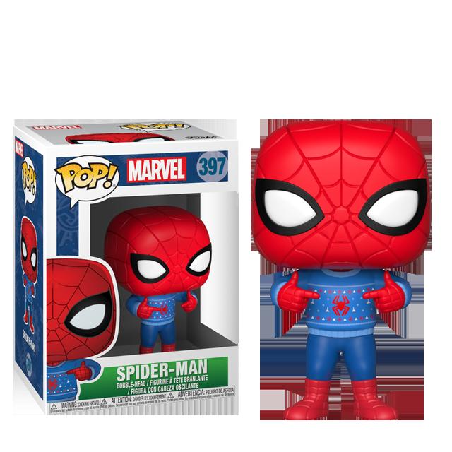 Figurka Funko POP! Vánoční Spider-Man