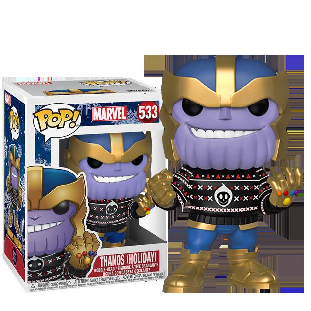 Figurka Funko POP Vánoční Thanos ve svetru