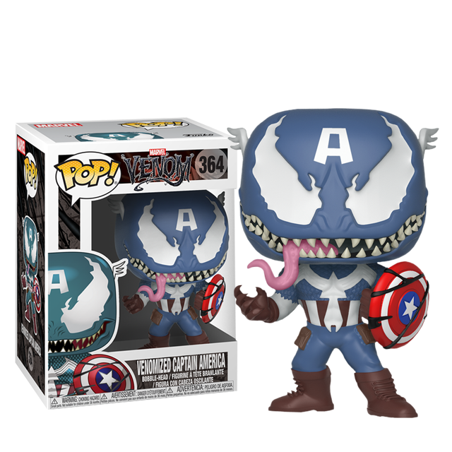 Figurka Funko POP! Venom Captain America