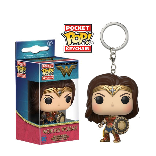 Pocket POP! Wonder Woman - přívěsek na klíče
