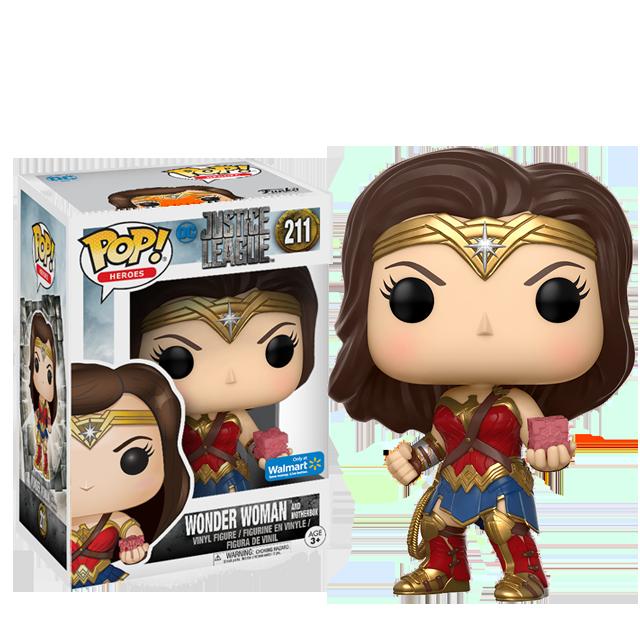 Figurka Funko POP! Wonder Woman s mateřskou krychlí