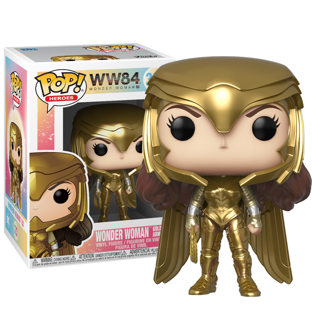 Funko POP Wonder Woman ve zbroji - WW84