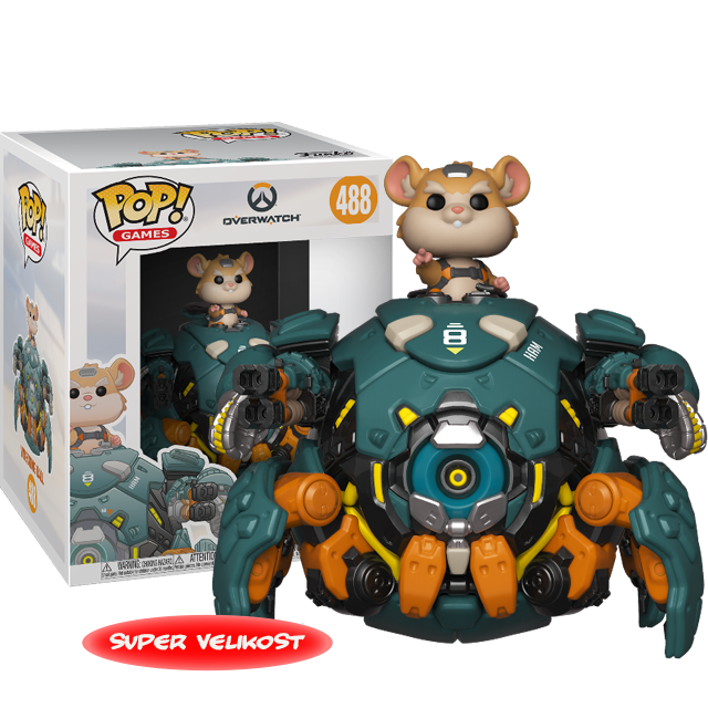 Figurka Funko POP Wrecking Ball - Overwatch