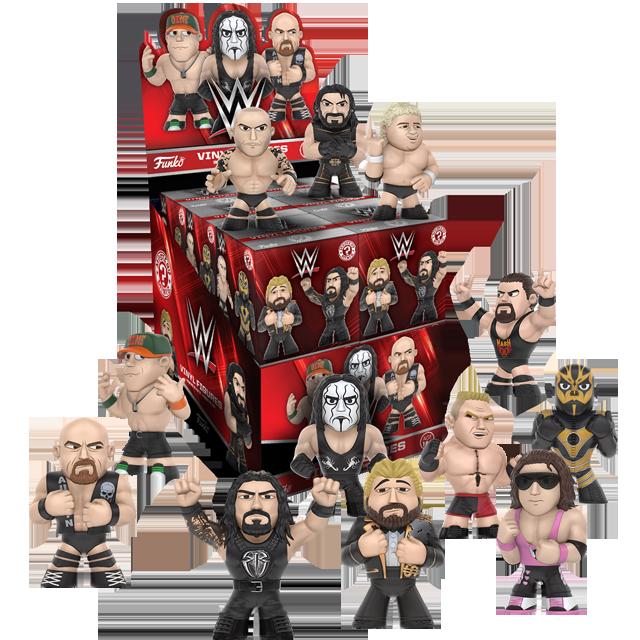 Figurky Mystery Minis WWE Wrestleři série 2 - Blindbox