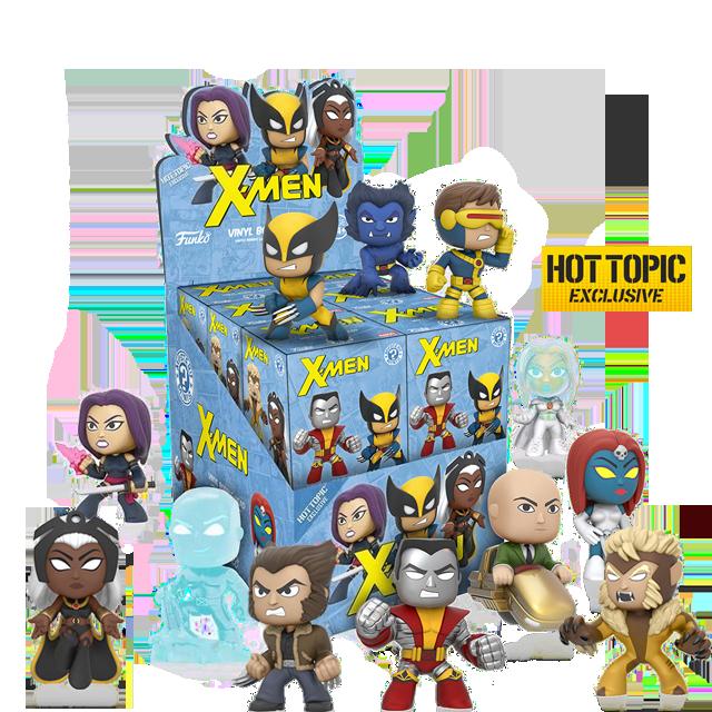 Figurky Mystery Minis X-Men - Blindbox HOTTOPIC