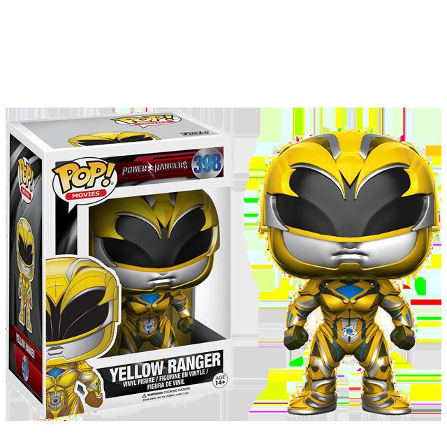 Figurka Funko POP! Yellow Ranger - Power Rangers