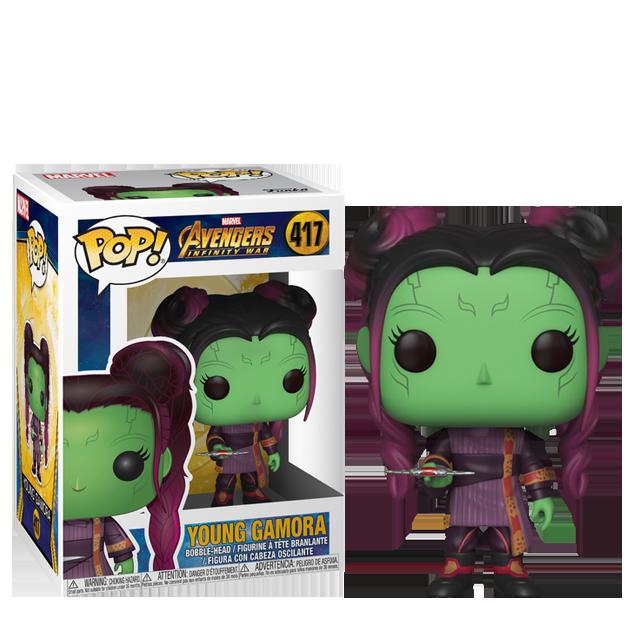 Figurka Funko POP! Young Gamora - Infinity War