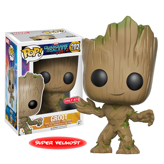 Figurka Funko POP! Young Groot 25cm - Vol.2