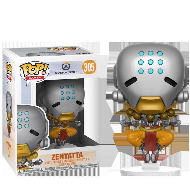 Figurka Funko POP! Zenyatta - Overwatch