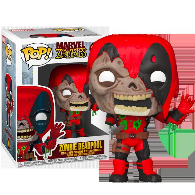 Funko POP Zombie Deadpool