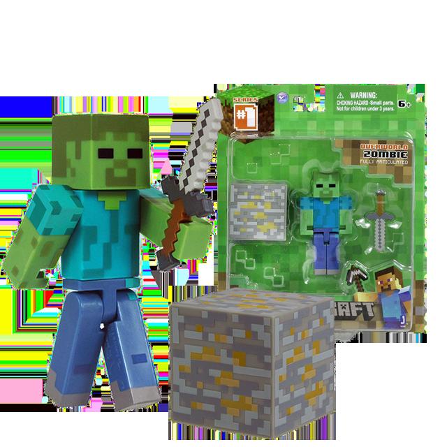 Figurka Jazwares Zombie Overworld