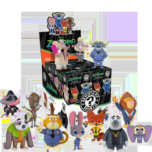 Figurky Mystery Minis Zootropolis - Blindbox