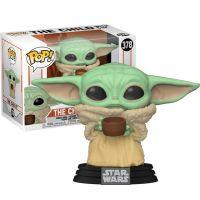 Baby Yoda with Cup - Mandalorian